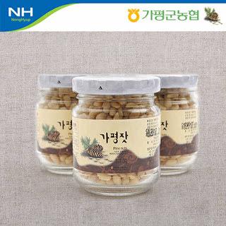가평군농협 가평잣 실속 2호 / 80g*3개입+선물포장지 포장