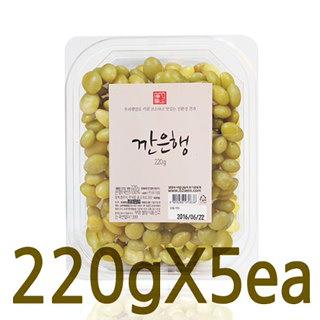 유기샘 국산 깐은행, 220g*5개
