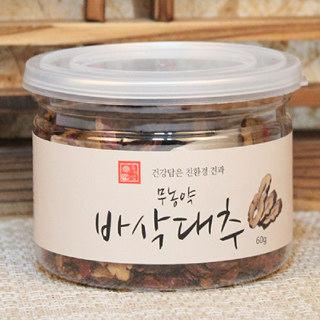 유기샘 국산 무농약 바삭대추 60g