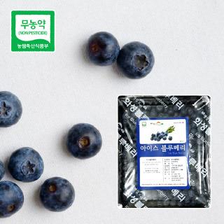 친환경 냉동블루베리 2kg