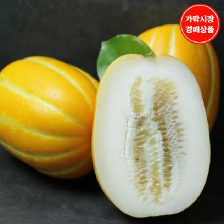 [가락시장] 특 성주 용암 꿀 참외 3kg내외 봉(7~9입)