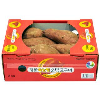 농협하나로마트 강화 속노랑 고구마 2kg/box