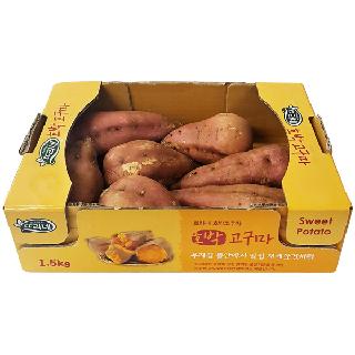 농협하나로마트 호박고구마 1.5kg/박스