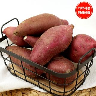 [가락시장] 꿀밤고구마 4.8kg내외/box/특상(100~250g)