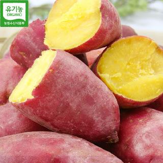 [산지직송] 무안 유기농 꿀고구마(한입)3kg/5kg/10kg