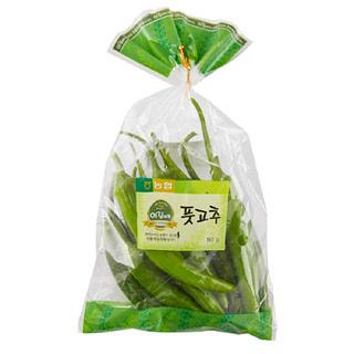 [전단상품]친환경 풋고추 , 150g/봉