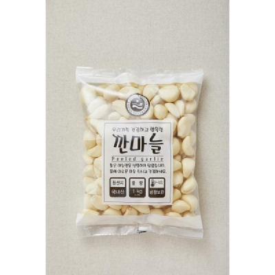 (전남오픈마켓/햇고을)고흥 깐마늘(중과소) 500g/1kg
