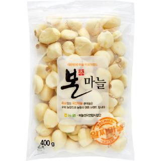 농협하나로마트 깐마늘 400g/봉