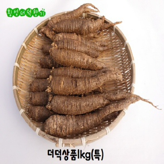 더덕 1kg (특)