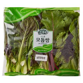 (무료배송)농협하나로마트 채소 꾸러미(모듬쌈300g+대파1kg+양파1.5kg+청양고추150g+머쉬마루버섯2봉)