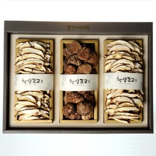 국내산 표고버섯 웰빙버섯세트 290g [보자기포함]