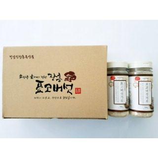정남진장흥농협 표고버섯 분말세트 200g(100g*2개)