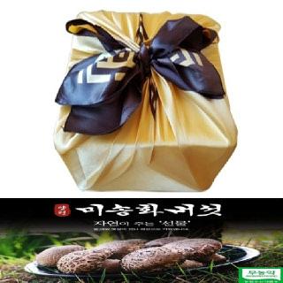미송화버섯 스치박스/보자기포장 중급형1kg 선물세트 무농약 산지직송 (주)미송