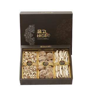 영동농협 표고버섯 혼합세트 2호 (표고쌀,흑화고,절편) 300g