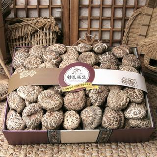 국내산 표고버섯 흑화고(특)세트1,000g[보자기포함]