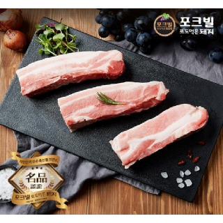 대전충남양돈농협 포크빌 삼겹살 (수육용) 1kg