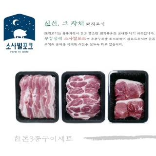 소사벌포크_친환경 한돈 구이세트 꾸러미