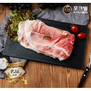 대전충남양돈농협 포크빌 뒷다리 (불고기용) 500g