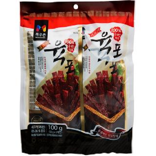 농협하나로마트 목우촌 쇠고기육포 100g
