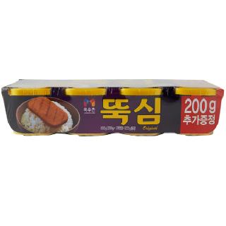 농협하나로마트 목우촌 뚝심 (200g*3개입)+200g