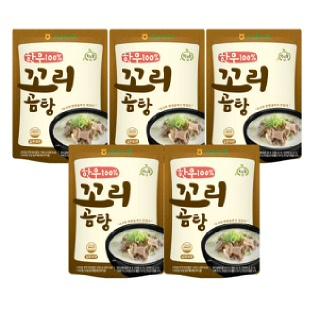 [특가10%]고삼농협 명품 한우 꼬리곰탕(5입)