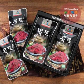 [9월 16일출고]평창영월정선축협 대관령한우 육포 선물세트 40g X 8EA
