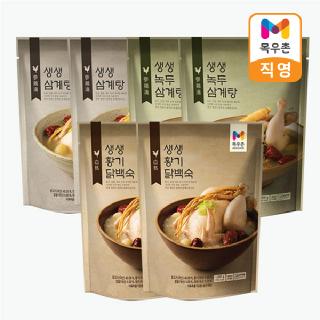 [목우촌] 생생삼계탕 3종 세트(6팩)