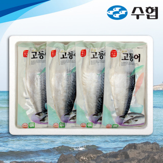 수협 제주 특대 손질 고등어 세트 2kg(8~11팩)
