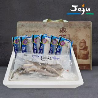 [바다예찬][선물세트] 제주 순살 고등어(대) 150g x 6팩+제주 두절참조기 650g(14-16미내외)
