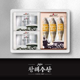 제주어가 모둠 선물세트 6종_03호(갈치2마리+참조기6마리)