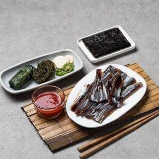 해풍건조 구룡포 손질 과메기 야채세트(1~2인분)