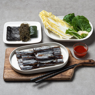 해풍건조 구룡포 손질 과메기 야채세트(3~4인분)