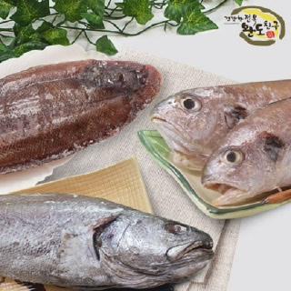 [완도친구] 반건조 생선세트 3호 (민어+도미+농어+서대+병어)