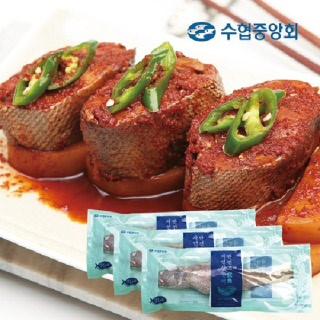 수협 민어굴비 3미 (개별포장 / 마리당 400g) + 보너스 1마리더