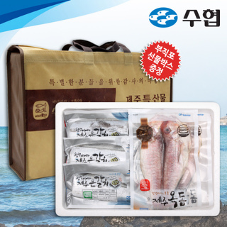 수협 제주 옥돔&갈치 혼합 선물세트