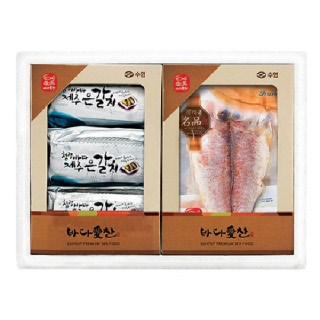 수협 제주 옥돔&은갈치 세트(옥돔 230g*3팩, 진공 은갈치400g*3팩)