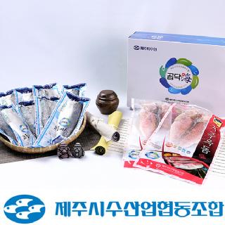 제주시수협 제주 옥돔&고등어 혼합세트 1.7kg