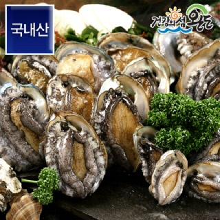 [청정바다엔] 완도전복 1kg 1팩 /14-16미 (대 사이즈) (완도직송,산소포장)