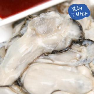 [남해바다] 국내산 생굴 1kg (2세트이상 떡국떡 증정)