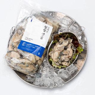[삼해진미] 당일채취한 남해안 생굴(깐굴) 1kg