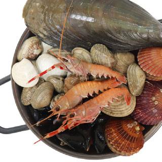[착한어부] 해물탕 1.5kg 키조개/바지락/가리비/홍합 등 6종 + 해물탕 소스 증정