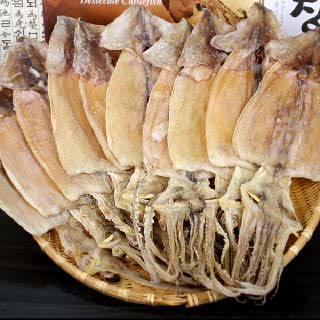 해진 동해안 건오징어(소)10미(350g)