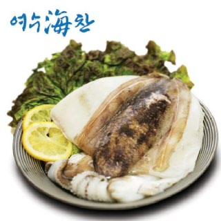 [여수수협] 손질 갑오징어 900g(300G이상 2~3마리)