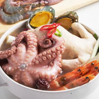 [삼삼해물] 보글보글 해산물 보양식 (냉동/냉장)