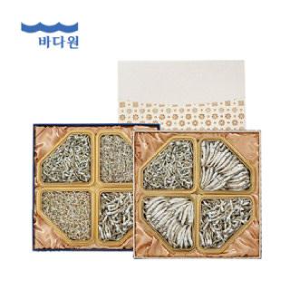 바다원 [명절선물세트] 사각한지함세트 1호