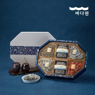 바다원 [명절선물세트] 팔각 프리미엄 멸치세트 2호
