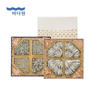 바다원 [명절선물세트] 사각한지함세트 2호