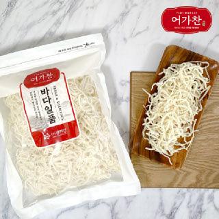 [어가찬] 바다일품 백진미채 1kg / 상급