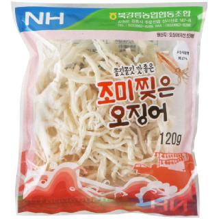 농협하나로마트 북강릉농협 조미찢은 오징어 120g