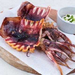 [삼해진미] 구룡포 반건조 오징어(중) 5마리(450g내외)